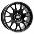 BBS CH - Matt Black Polished Lip