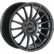 OZ Racing Superturismo LM - Matt Graphite Silver Lettering