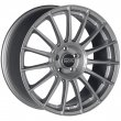 OZ Racing Superturismo LM - Matt Race Silver Black Lettering