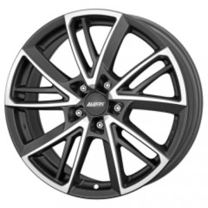 Alutec Xplosive - Matt Graphite Front Polished