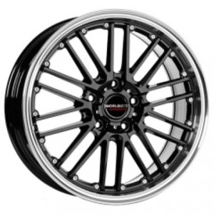 Borbet CW2 - Black + Rim Polished