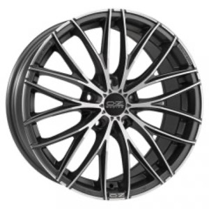OZ Racing Italia 150 - Matt Dark Graphite Diamond Cut