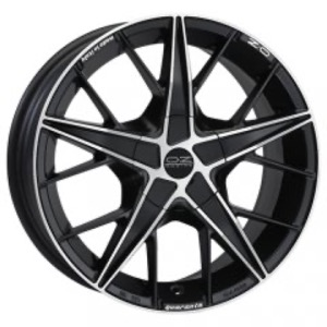 OZ Racing Quaranta - Matt Black Diamond Cut