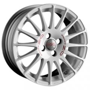 OZ Racing Superturismo WRC - Race White Red Lettering