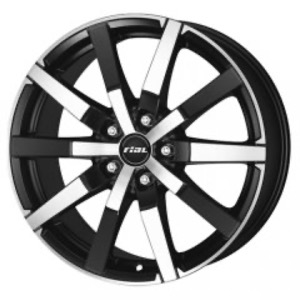 Rial Trenta - Racing Black Front Polished